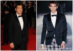 "The Derek's Blog: Javier Bardem en Gucci – ""Skyfall"" London Premiere"