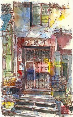 Paul Wang, Peel Street, HongKong