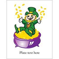 - Clover Labels, 6 per sheet, st. patrick's day | St. Patrick's Day ...
