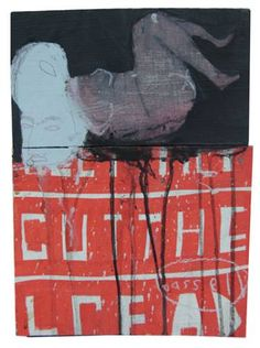 "Saatchi Art Artiste Samuel Bassett; , ""Couper le pain"" #art"