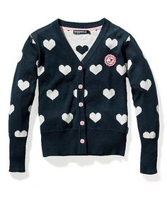 cute sweater to go over the uniform.