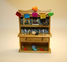 Miniature Day of the Dead Icon Frida Kahlo by TeenyTinyTotallyMore, $75.00