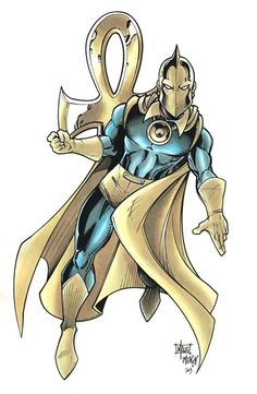 Dr Fate by Frisbeegod