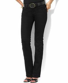 Lauren Jeans Co. Jeans, Classic Straight Leg Manhattan Wash