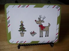 Christmas Handmade Greeting Card  Lots of by janzcardsandgifts