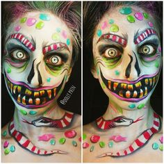 candy demon facepaint - Google Search