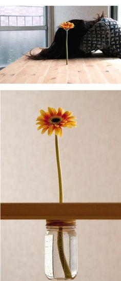 Table flower (design)- GENIUS!!