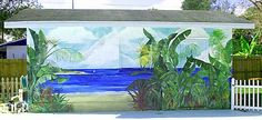 OMG I want to do this to my back fence!! Foliage and the Sea - Blaine Whitford
