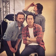 Andrew, Steven, & Norman, SDCC
