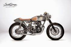"""Honda CB """"Hyle"""" by South Garage Motorcycles"""