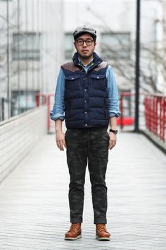 Japanese men wearing Red Wing boots - Google Search | Men's Lace ...