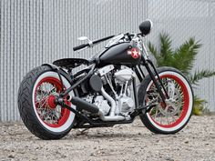 Huntington Beach Cycles Custom Bobber - Dept.85 Bobber