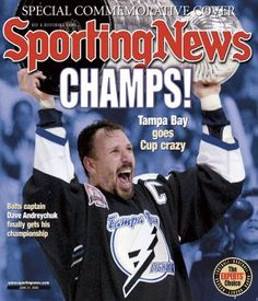 The Tampa Bay Lightning won their first (and so far, only) Stanley Cup in 2004