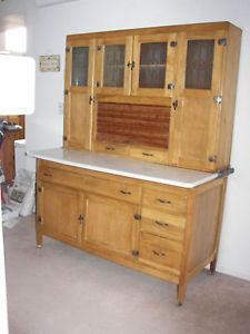 hoosier style cabinet   early 1900 u0027s sellers kitchen orig etched glass indiana antique hoosier kitchen cupboard   early 1900 u0027s   kitchen      rh   pinterest com