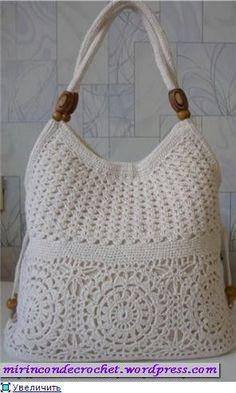 Hermosa Cartera « Mi Rincon de Crochet