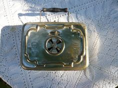 antique french foot warmer early by Lepapadesmatous on Etsy, $50.00