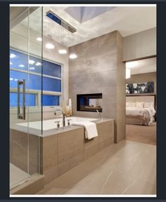 Bedroom bathroom combo
