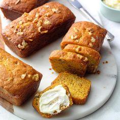 Cream Bread Recipe, Best Bread Recipe, Quick Bread Recipes, Muffin Recipes, Yummy Recipes, Cookie Recipes, Banana Bread Recipes, Pumpkin Recipes, Fall Recipes