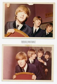 John. Ringo. George + Paul | via Beatle Love ~ Cityhaüs Design