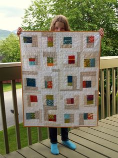 love the improv piecing and heavy quilting >> http://spottedstone.blogspot.com/2011/06/swoon.html