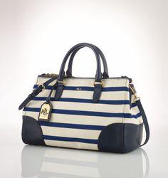 Vachetta Stirrup Boston Bag - Ralph Lauren Handbags Handbags ...