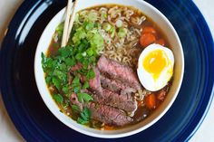 Beef Ramen Noodle Soup (recipe)