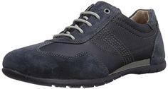 camel active Shuttle 13, Herren Sneakers, Blau (jeans/navy), 44 EU (9.5 Herren UK)