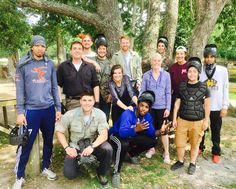 The Catalyst Leadership Group had an amazing time playing paintball!