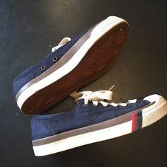 e8a0c6de4a7b Vintage 1980s PRO KEDS Blue Canvas Retro Low Top Lace Up Sneakers Unisex