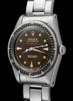 ThingsLooksGood - Vintage Rolex Milgauss ref.6541 year 1954