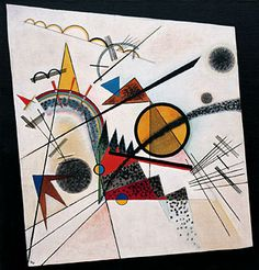 Vasily Kandinsky, In the Black Square, June 1923. Oil on canvas, 38 3/8 x 36 5/8 inches.