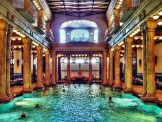 Fancy - Gellert spa and bath in Budapest. Another must go for the list.