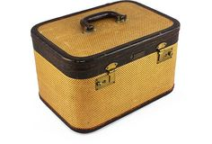 1940s Luggage Train Case