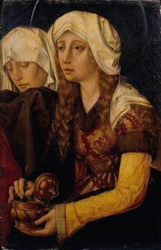 Magdalena, escola alemana s. Carrara, Santa Maria, Opera, Saints, Mary, Renaissance, Painting, Mary Magdalene, Lawyers