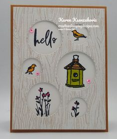 Stamping Up Cards, Rubber Stamping, Well Done Card, Hello Photo, Theme Nature, Stampin Up Catalog, Card Sketches, Flower Cards, Anniversary Cards
