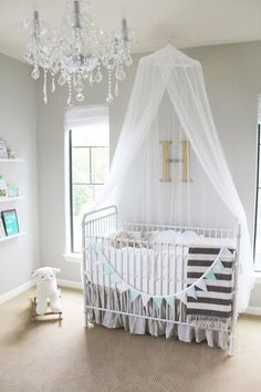 A Minted Glam Nursery Design From Veronikas Blushing/Fawn Over Baby