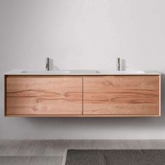 45 Degree 71-Inch Wall-Mounted Vanity