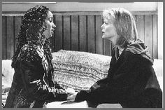 Michelle Pfeiffer and Marisela Gonzales in Dangerous Minds Dangerous Minds, Michelle Pfeiffer, Storytelling, Photo Galleries, Dreadlocks, Mindfulness, Gallery, Hair Styles, Movies