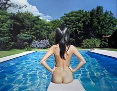 A Painting that looks like a Photo by Diego Gravinese.