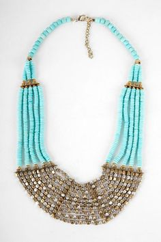 Rock Candy Bib Necklace