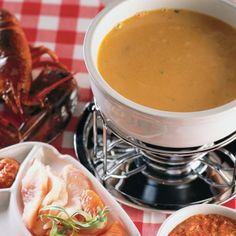 Fondue à la bisque de homard - Recettes - Cuisine et nutrition - Pratico Pratiques