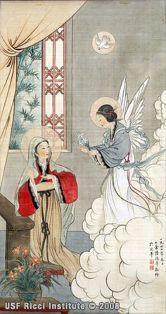 聖母領報 The Annunciation to Mary