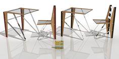 Diciembre 2016. Mesa y silla DANZA. EO DESIGN by Ernesto Oñate.