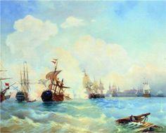 Revel  (Tallinn) fight May 2, 1790 - Alexey  Bogolyubov