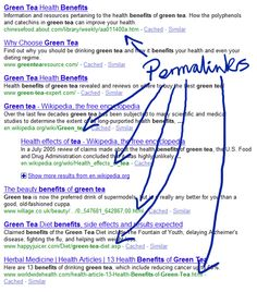 A PERMALINK is a permanent link to content on a website, usually based on a unique identifier that can be used to find the content in the website database.