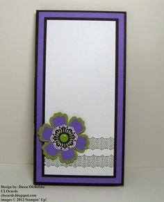 Weekly DEALS from Stampin' Up!  Blossom Punch; Notepad & Pen Holder.  More photos and instructions on #CLOcards blog.