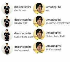 Phil 3, Dan And Phil, Dodie Clark, Danisnotonfire And Amazingphil, Sam And Colby, Phil Lester, Dan Howell, Best Youtubers, Phan