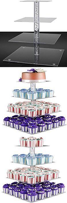 Amazon Com Inch Round Wooden Cake And Dessert Pedestal
