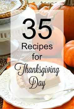 35 Recipes for Thank