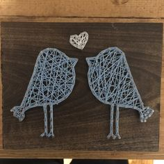 Love Bird String Art by heiserNherbert on Etsy